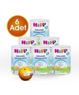 HiPP 3 Organik Combiotik Bebek Sütü 350 gr 6 Adet