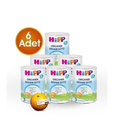 HiPP 3 Organik Combiotik Devam Sütü 350 gr 6 Adet