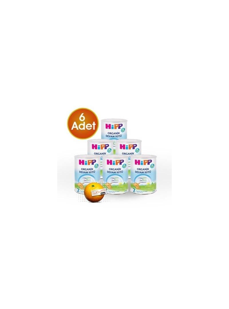 HiPP 2 Organik Combiotik Devam Sütü 350 gr 6 Adet