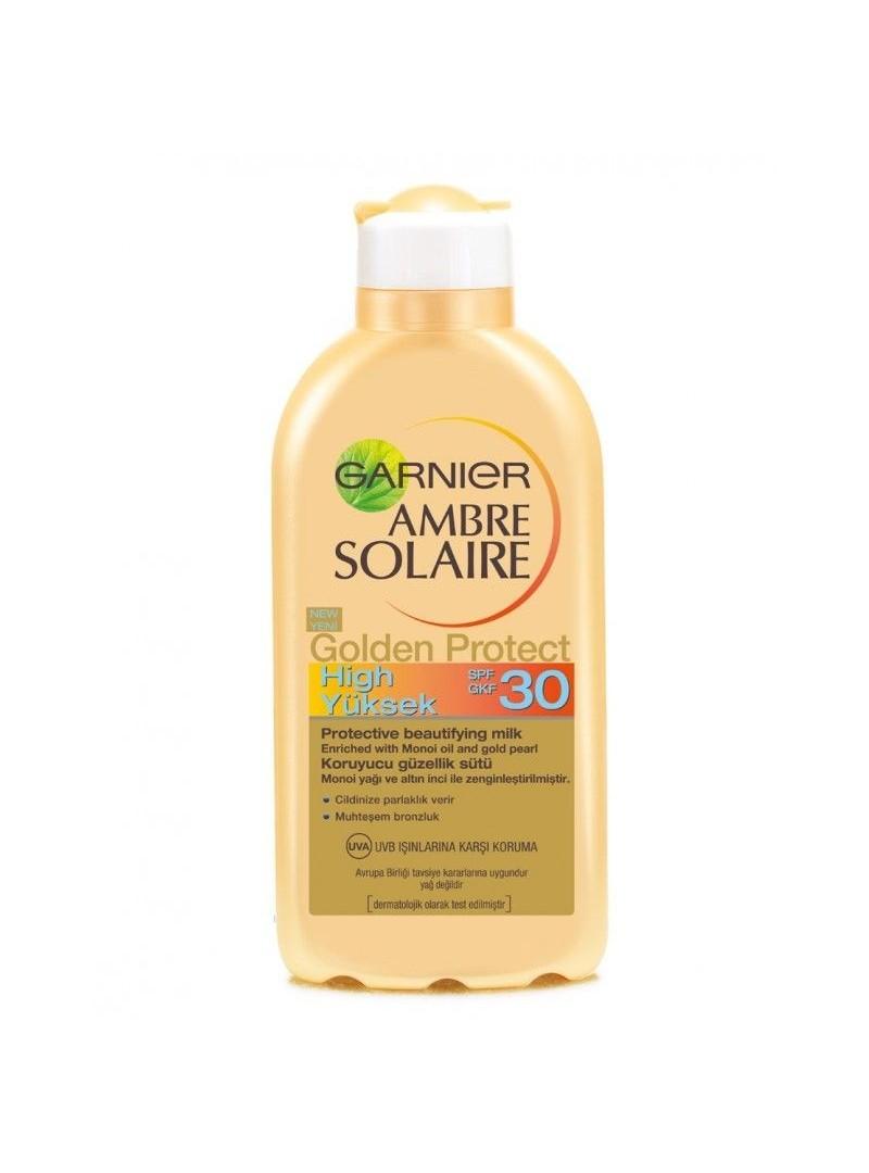 Garnier Ambre Solaire Golden Protect Koruyucu Güzellik Sütü SPF30