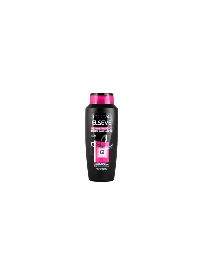 Loreal Paris Elseve Arginine X3 Saç Dökülme Karşıtı Direnç Şampuan 650 ml