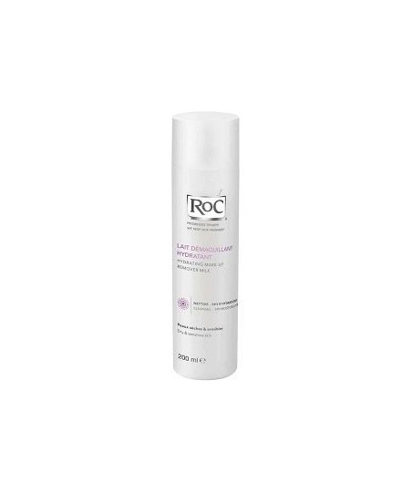 Roc Hydrating Make Up Remover Milk 200ml