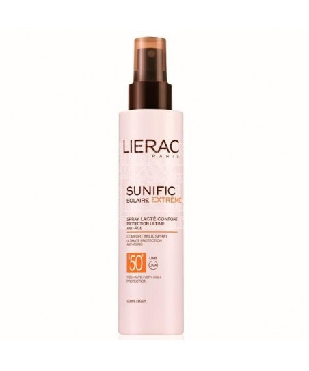 Lierac Sunific Suncare Extreme Comfort Milk Spray Spf50+
