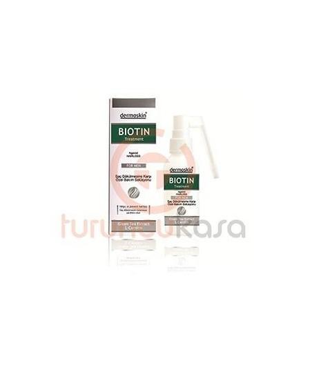 Dermoskin Biotin Sprey Erkek Saç Dökülmesine Karşı Biotin Sprey