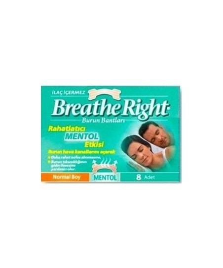 Breathe Right Burun Bandı Menthol Normal Boy