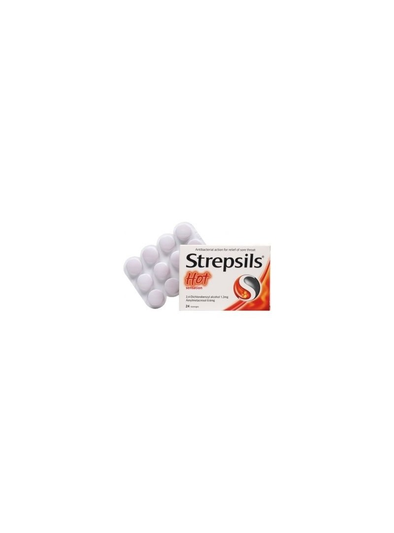 Strepsils Hot Pastil 24 Lozenges