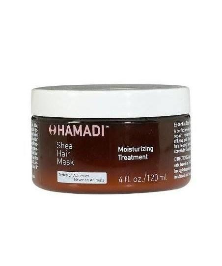 Hamadi Shea Hair Mask Moisturizing Treatment Saç Maskesi nemlendirici Bakım 120ml