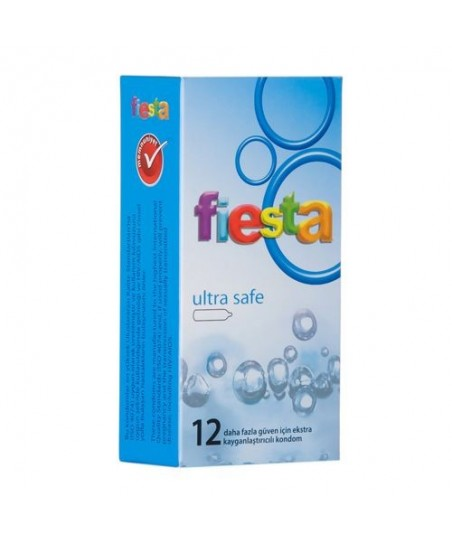 Fiesta Ultra Safe Prezervatif 12 Adet