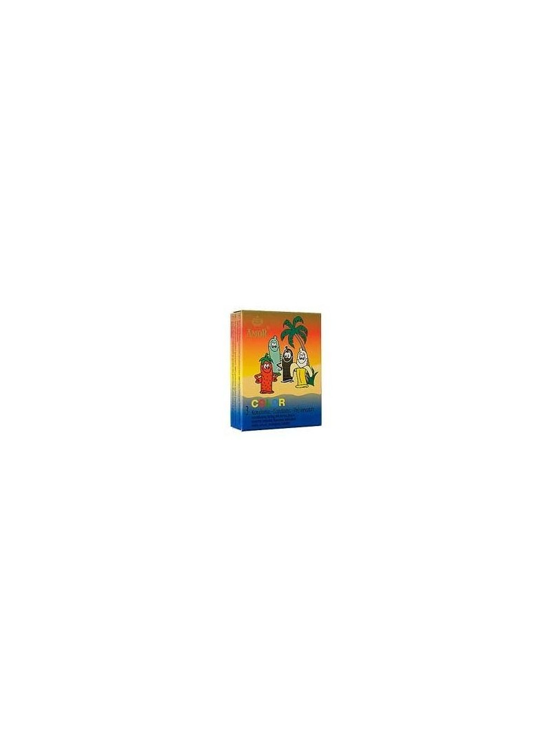 Amor Color Prezervatif 3 Adet