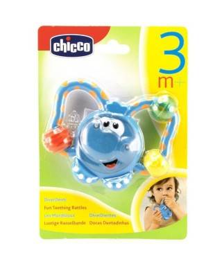 Chicco Komik Fil Diş Kaşıyıcı Çıngırak