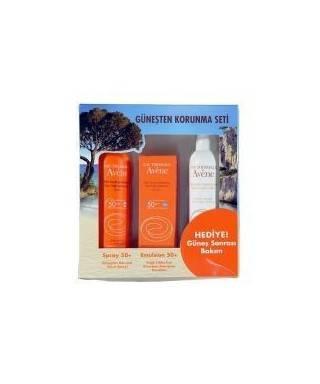 Avene Spray SPF 50 + Avene Emulsion SPF 50 (Avene After Sun HEDİYE)