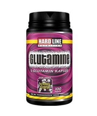 Hardline Glutamine 100 Kapsül