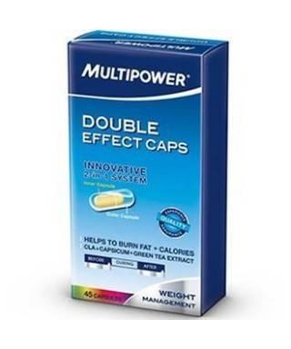 Multipower Double Effect  45 Caps CLA+Biber+YeşilÇay+Chromium