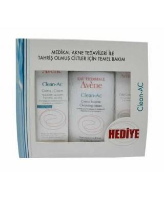 Avene Clean-Ac Medikal Akne Temel Bakım Set