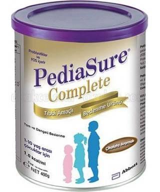 Pediasure Complete Çikolata Aromalı 400gr