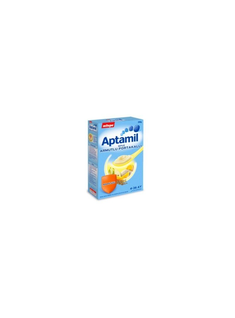 Milupa Aptamil Armutlu Portakallı Kaşık Maması 250gr