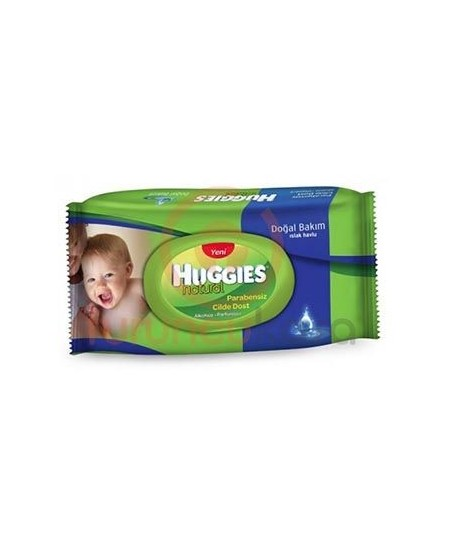 Huggies Natural Islak Havlu 64 lü