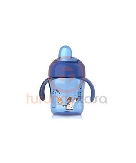 Philips Avent 0%BPA Damlatmaz Suluk 12+Ay 260 ml Mavi