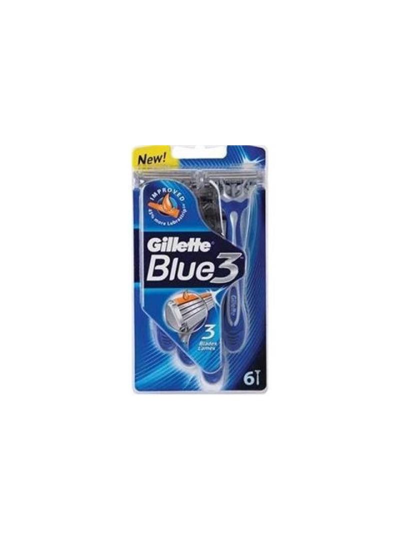 Gillette Blue 3 6'lı Kullan At Poşet