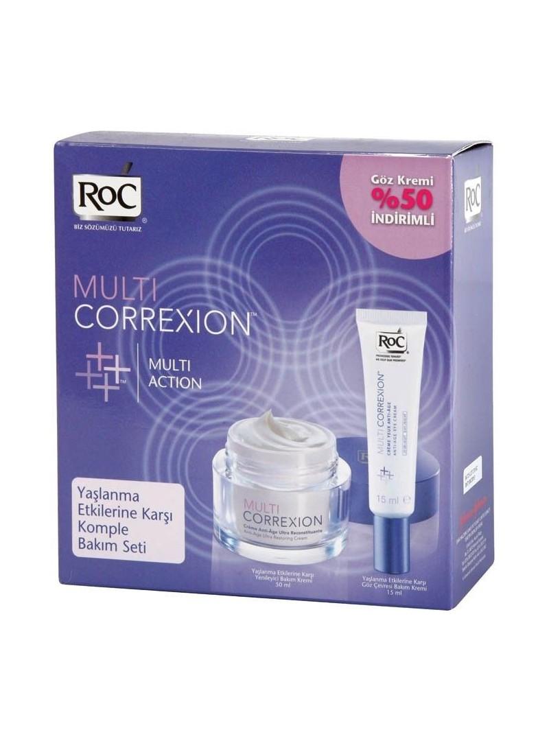 Roc Multi Correxion Yeniliyici Bakım Kremi + Göz Kremi % 50 İndirimli