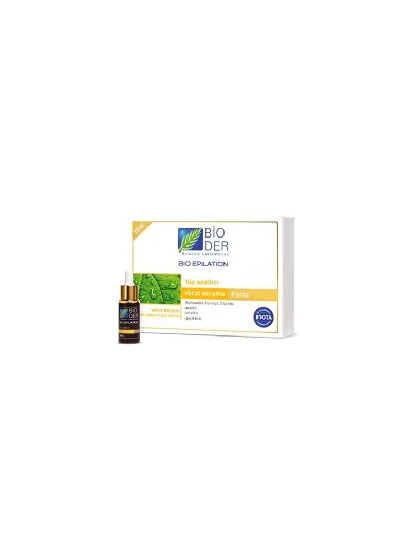 Bioder Bio Epilation Vücut Serumu Forte 30 ml ve Krem 2'li Set