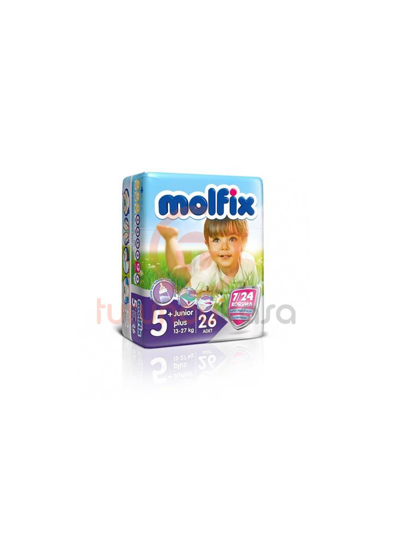 Molfix 4X4 Uyum İkiz Junior Plus No:5+ 26 Adet