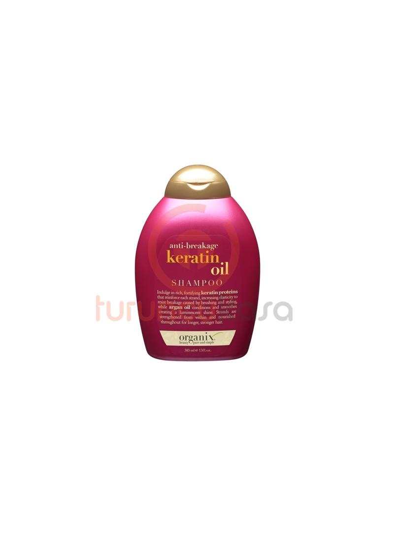 Organix Keratin Oil Kırılma Engelleyici Şampuan 385 ml