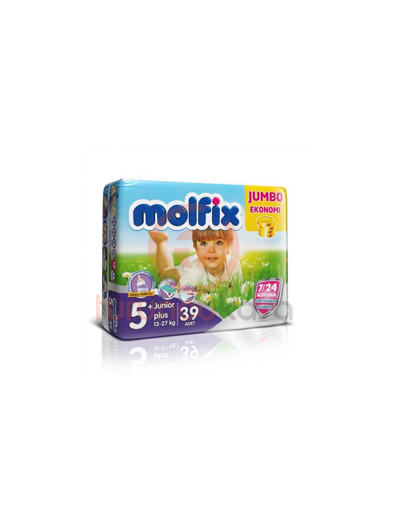 Molfix Jumbo Bebek Bezi No:5+ 39 Adet