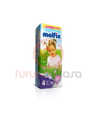 Molfix Jumbo 4+ Numara (9-20 kg) 54 Adet