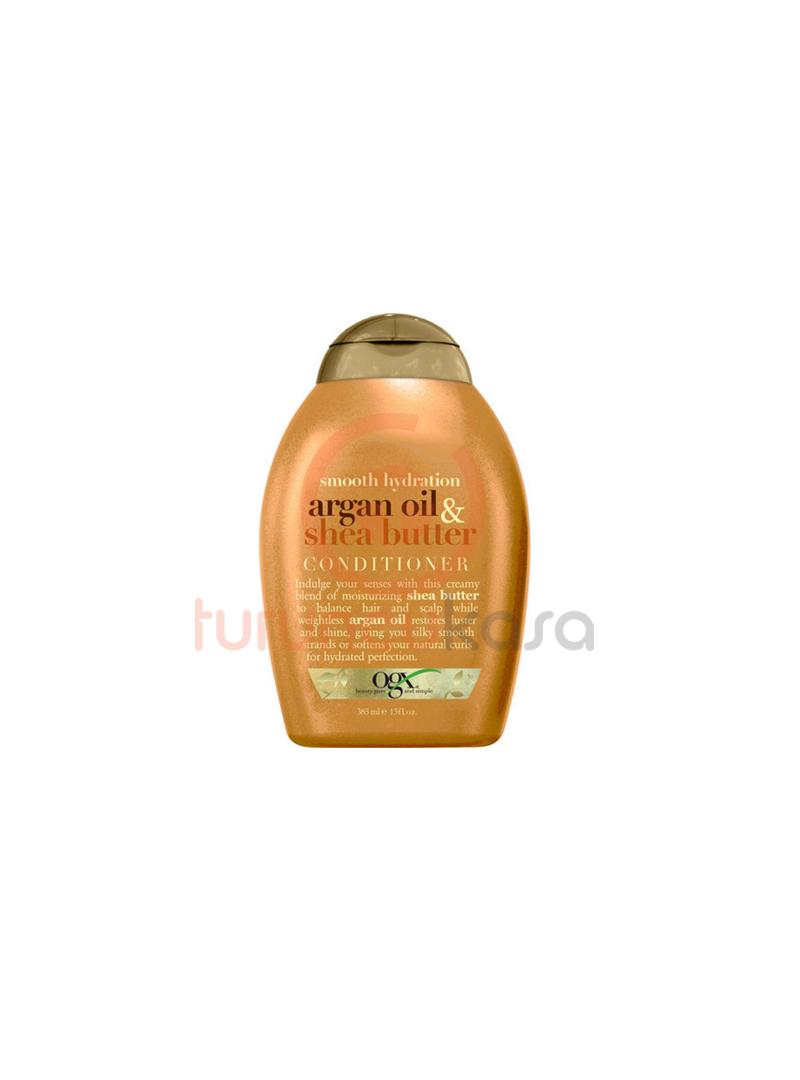 Organix Argan Oil & Shea Butter Conditioner - Yatıştırıcı Bakım Kremi