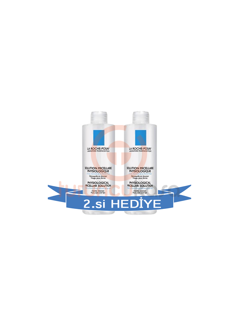 La Roche Posay Solution Micellaire Physiologic 400 ml 2'li Fırsat Paketi