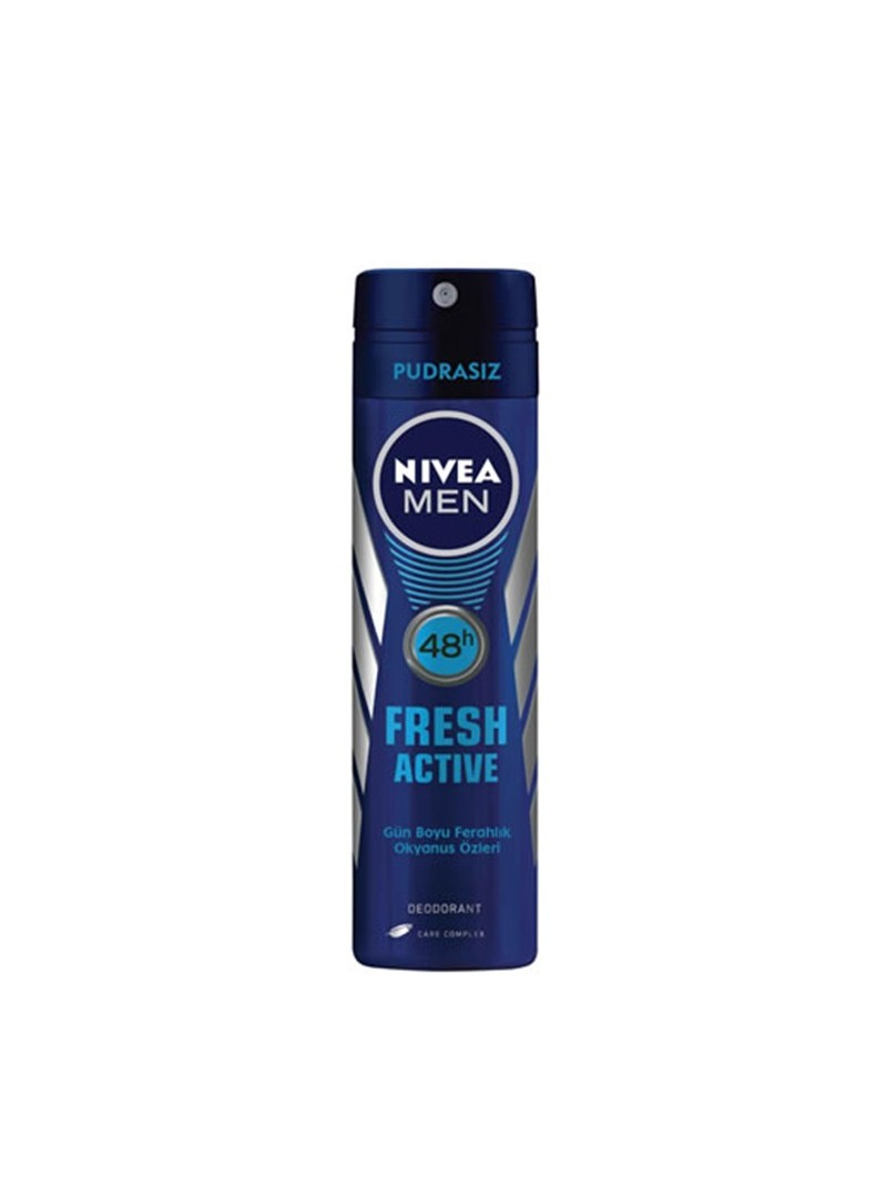 Nivea Deodorant 150 ml Fresh Active For Men Erkek