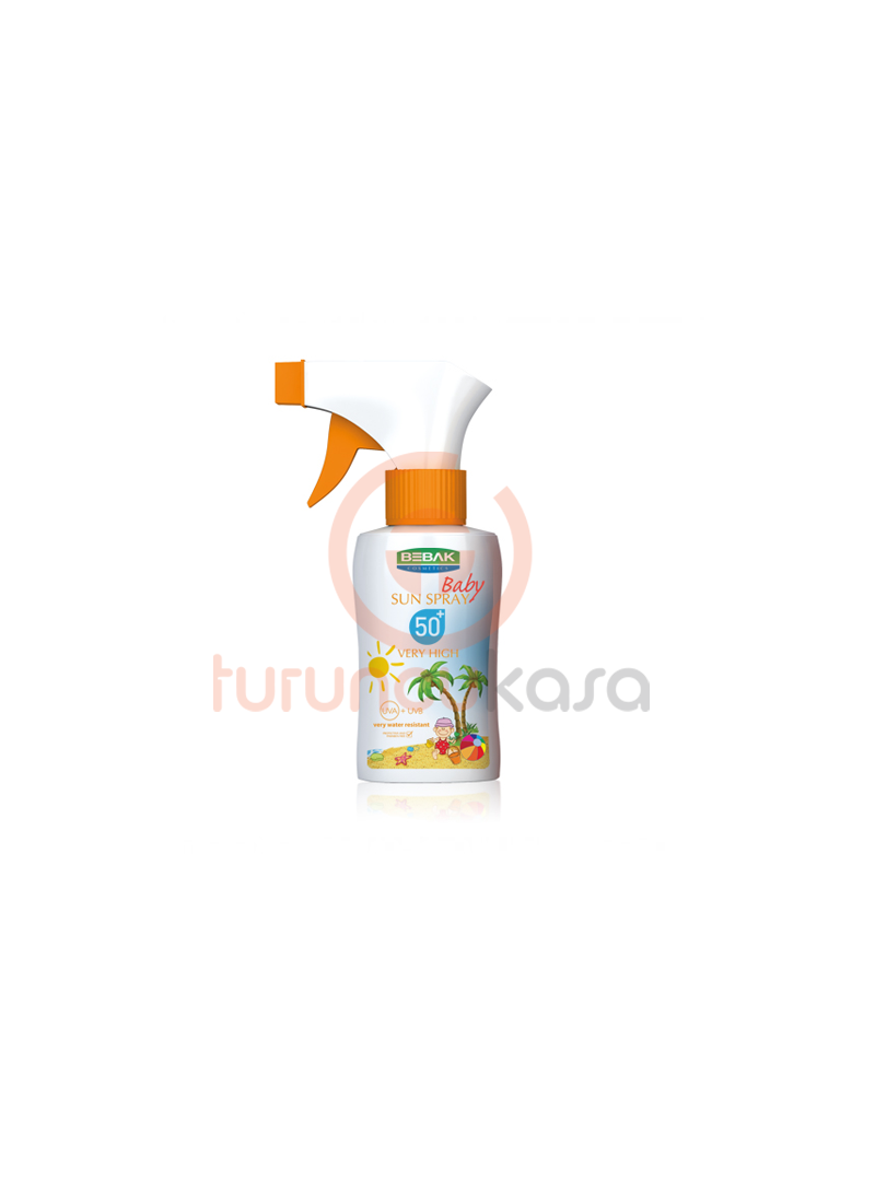 Bebak Baby Sun Spray 50+ 175 ml