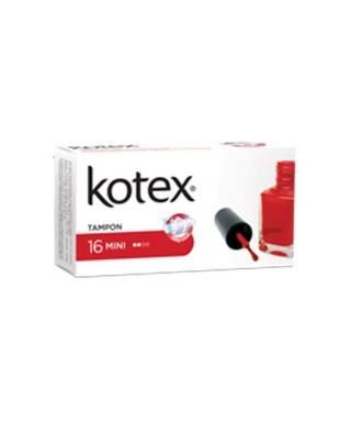 Kotex Mini Tampon 16'lı