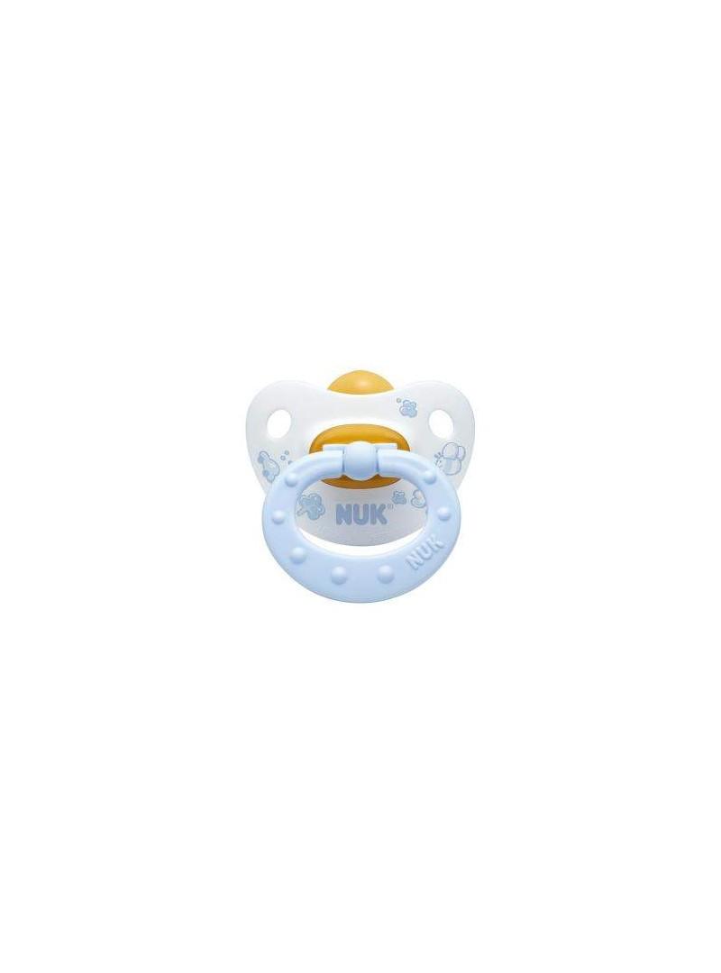 Nuk Baby Rose & Blue Emzik Kauçuk  No:1 (0/6 Ay)