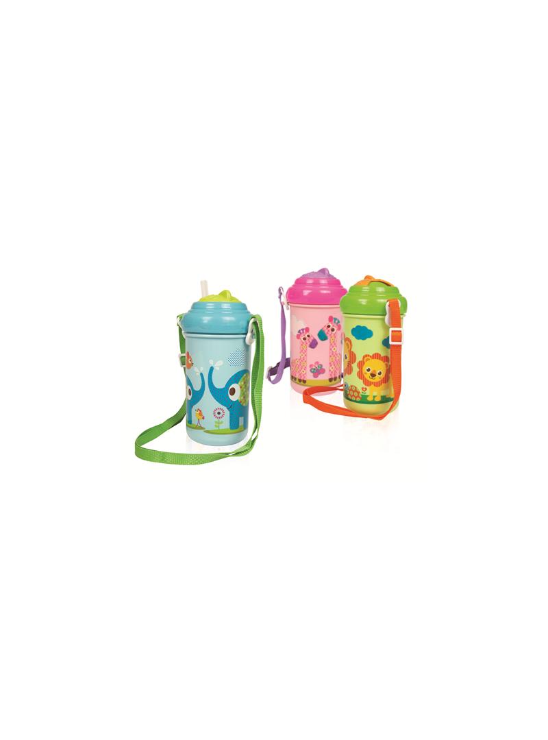 Bebedor Zoo Askılı ve Pipetli Alıştırma Bardağı