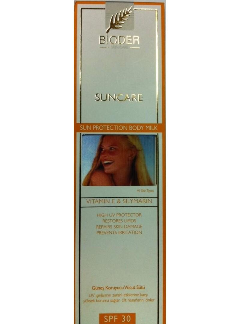 Bioder Suncare Güneş Koruyucu Vücut Sütü Spf 30