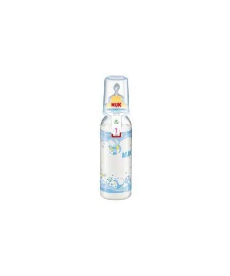 NUK Standart Silikon Emzikli PP Biberon (240 ml)