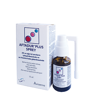 Aftadur Plus Sprey 15 ml