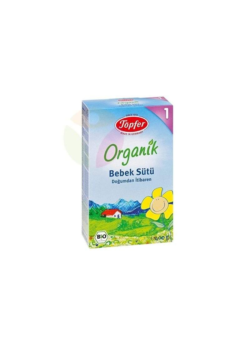 Töpfer 1 Organik Bebek Sütü 400 gr.
