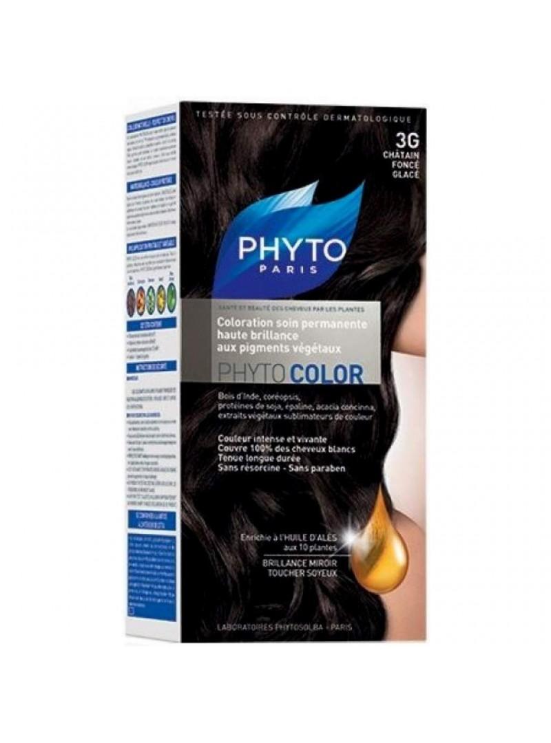 Phyto Color Saç Boyası 3G Koyu Kestane (Chatain Fonce Glace)