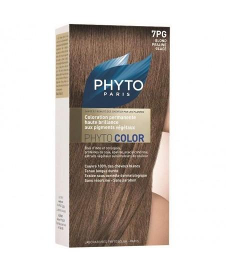 Phyto Color Saç Boyası 7PG Işıltılı Dore Sarı (Blond Praline Glace)