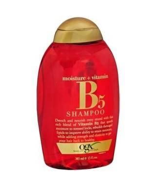 Organix Moisture Vitamin B5 Yavaş Uzayan Saçlar İçin Şampuan 385 ml