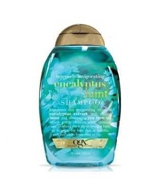 Organix Eucalyptus Mint Yağlı Saçlar İçin Okaliptus Nane Şampuanı 385 ml