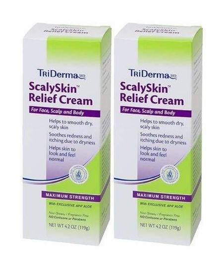 Triderma Md Scaly Skin Relief Cream 62 gr - Yüz, Vücut ve Saç Derisi İçin 2'li Krem