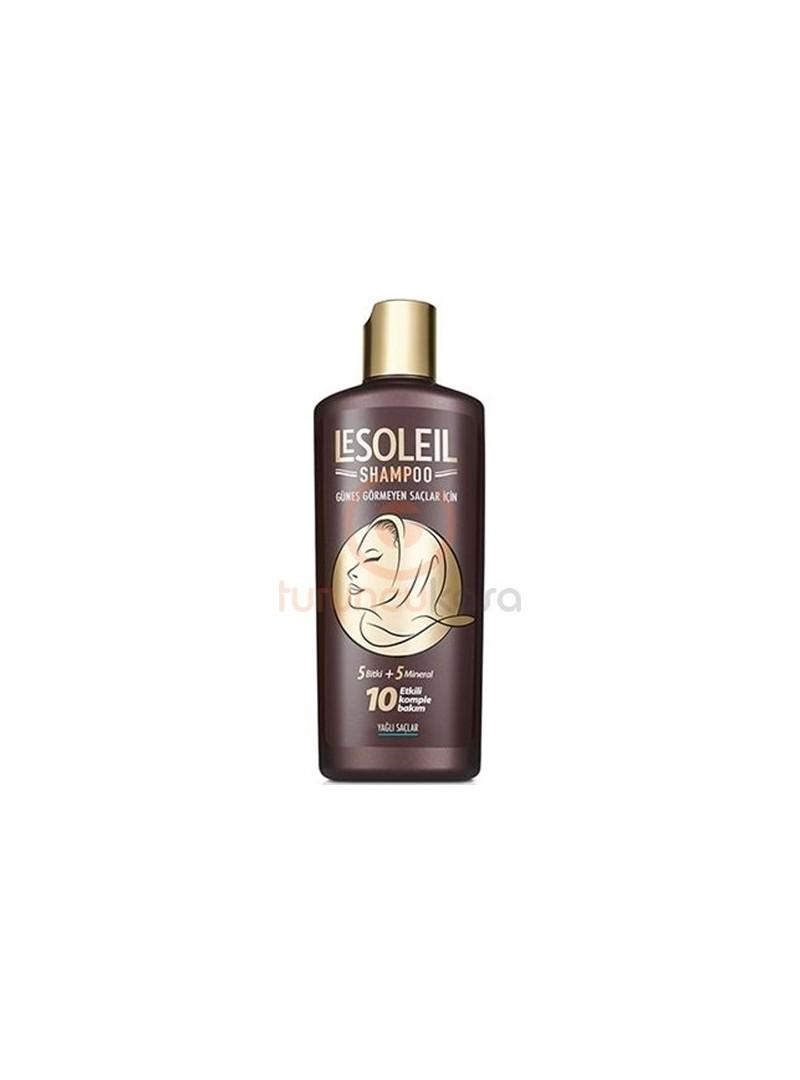 Le Soleil Güneş Görmeyen Saçlar İçin Şampuan 650 ml - Yağlı Saçlar