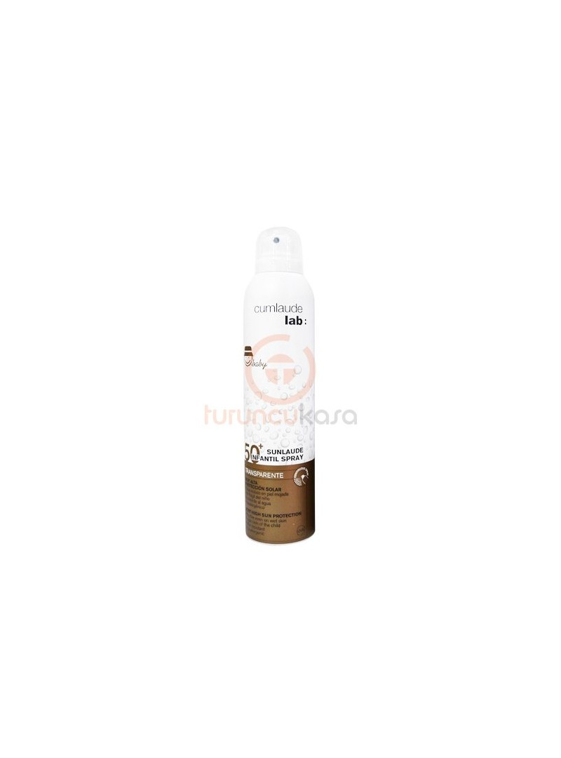 Cumlaude Lab Sunlaude SPF 50+ Transparente Infantil Spray 200ml