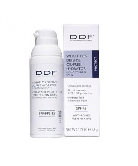 DDF Weightless Defense Oil Free Hydrator UV Moisturizer SPF 45
