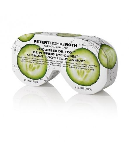 Peter Thomas Roth Cucumber Detox De-Puffing Eye Cubes 6x4ml