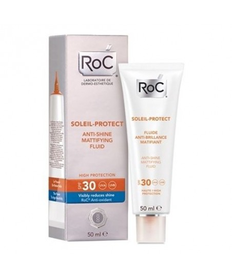 Roc Soleil Protexion SPF30+ Anti-Shine Fluid Cream 50 ml